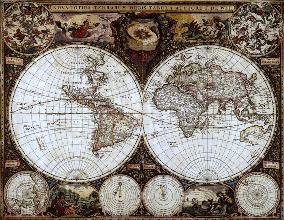 World map beautiful pictures mapsancient maps of