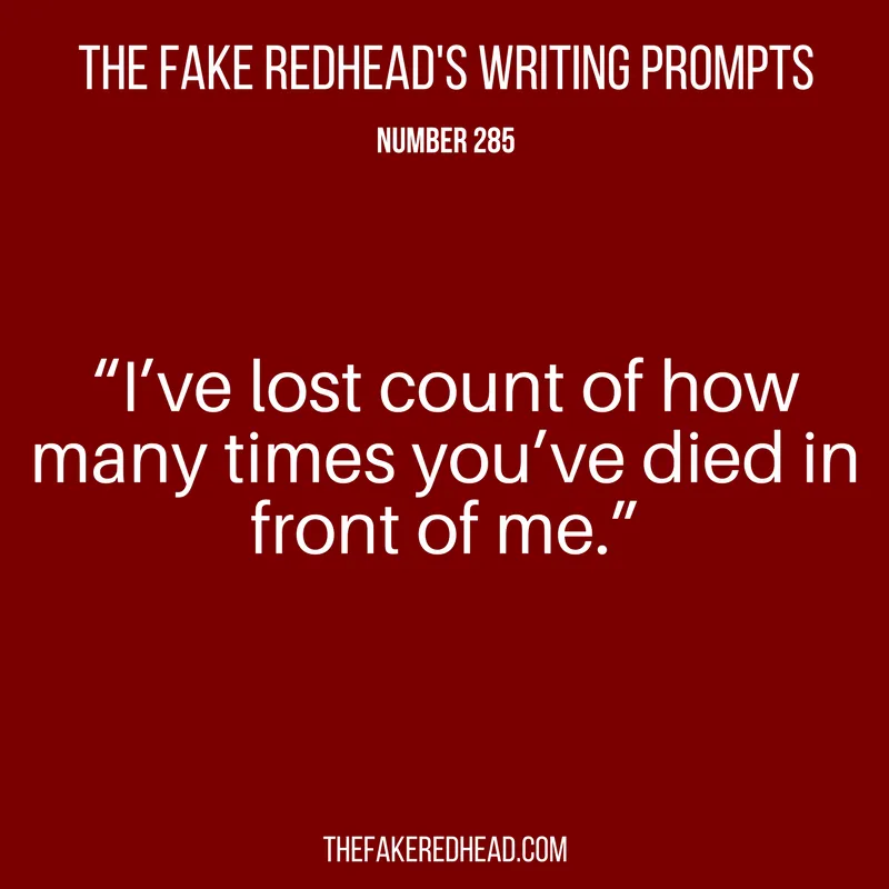Writing Prompts No. 201-300