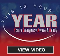 This is your year to be ready for emergencies
