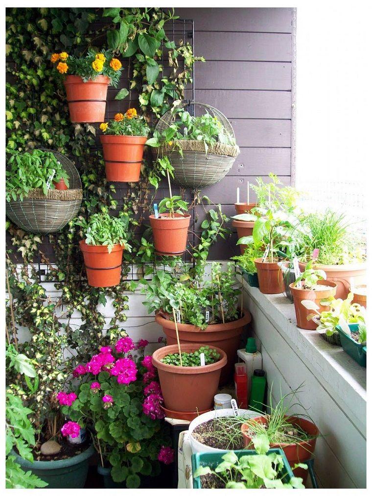 decoracin con plantas y flores