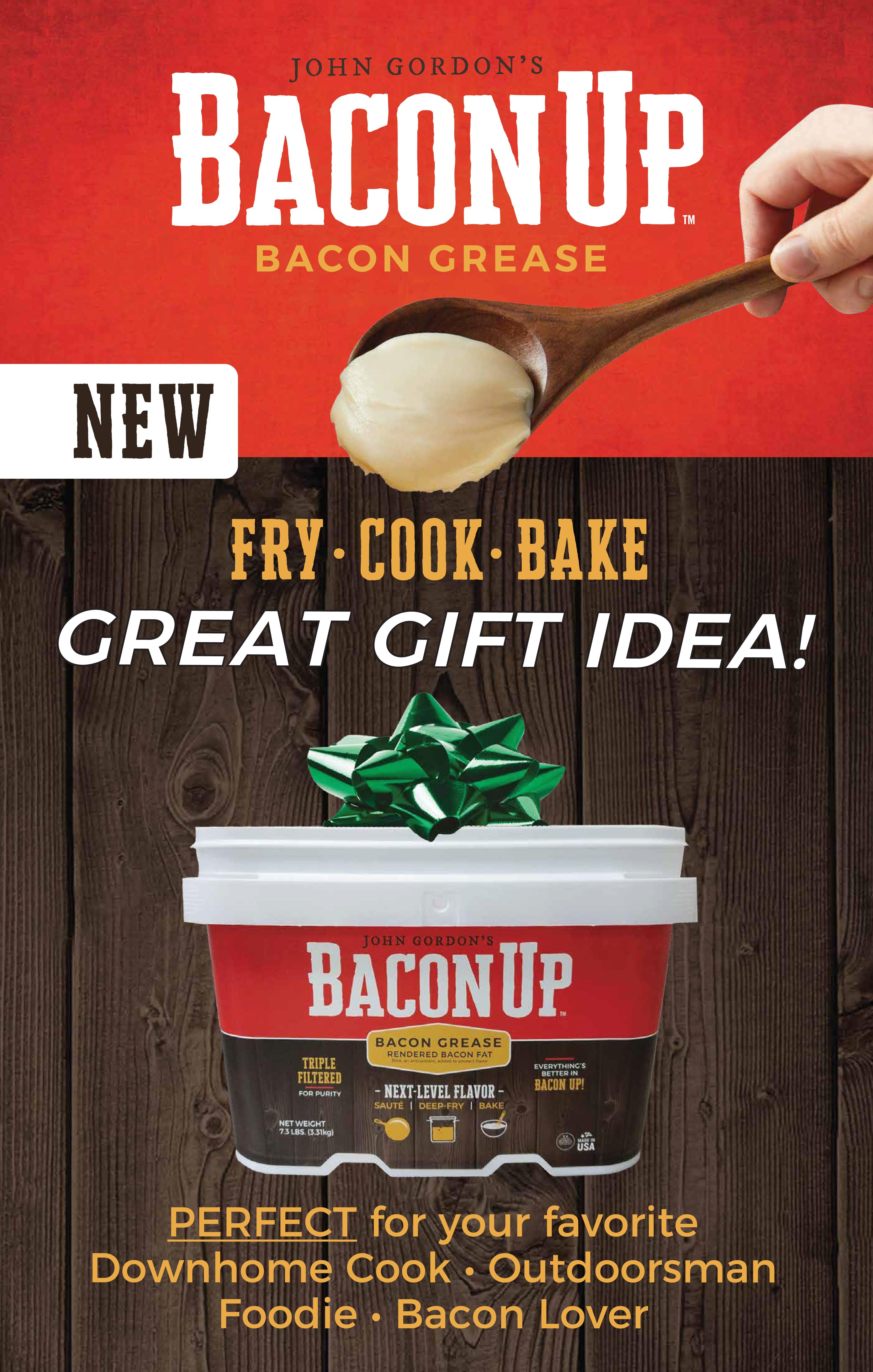 Bacon up bacon grease bacon bacon recipes holiday recipes