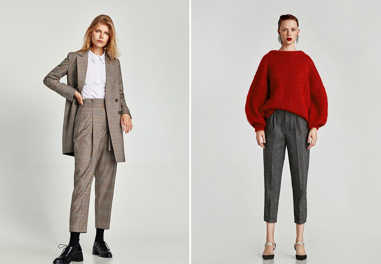 Zara Fall 2017 Is Chock Full Of Trends Semi Casual Outfit Zara