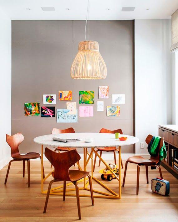 Quais são as medidas padrão mínimas para uma sala de jantar? Lofts