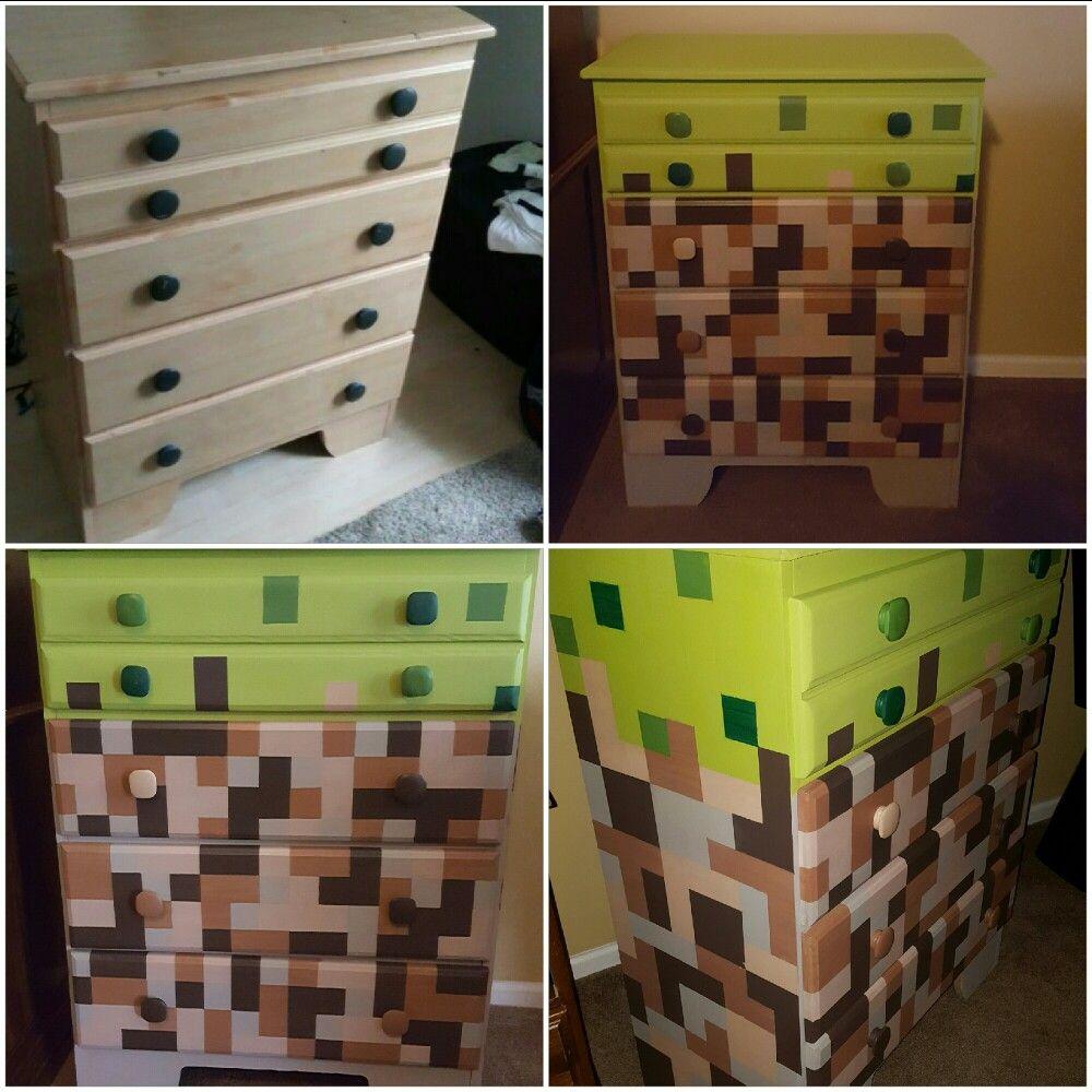 Minecraft Chest Of Drawers Mindcraft Minecraft Crafty
