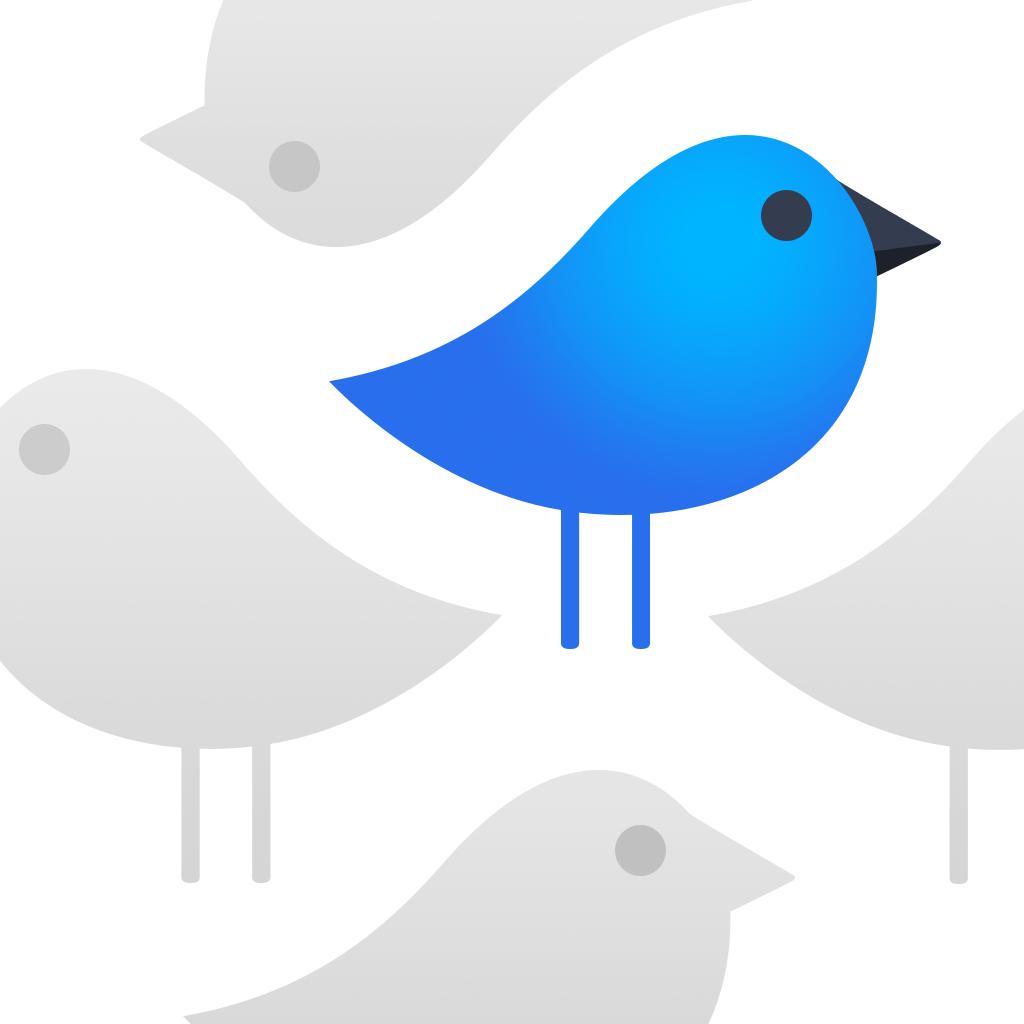 Tweet Seeker app icon   icon   Ios icon, App icon, Icon design