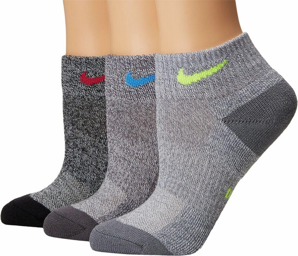 Nike Women S 3pk Performance Cushioned Quarter Socks 6 10 Sx6875 951 Nike Quarterhigh Nike Women Socks Women Women