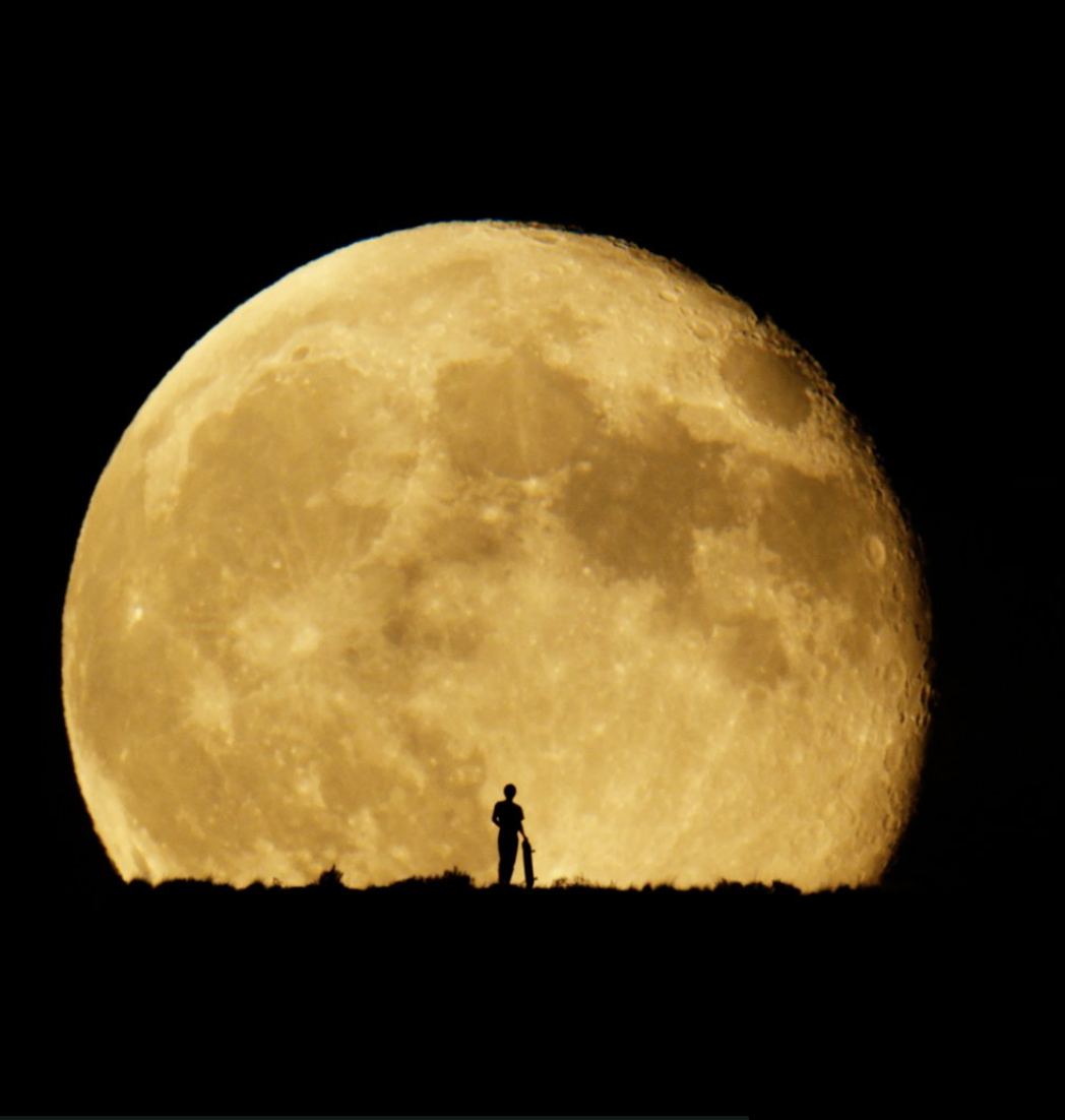 Mind-blowing supermoon