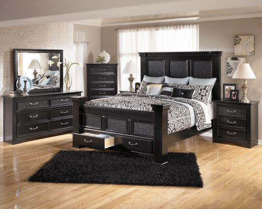 Black Wood Bedroom Furniture   Schlafzimmer