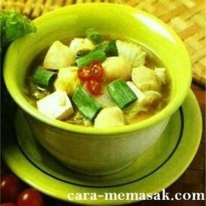 Resep Sup Tahu Bakso Resep Membuat Resep Sup Resep Resep Masakan