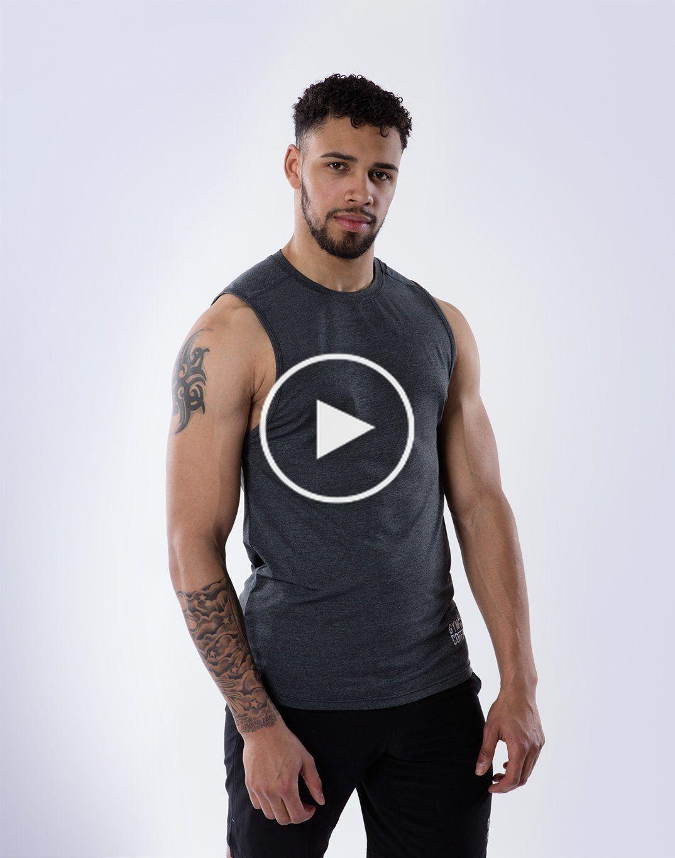 Gilet Technique Raglan En Anthracite En 2020 Gilet Raglan Tatouage Homme