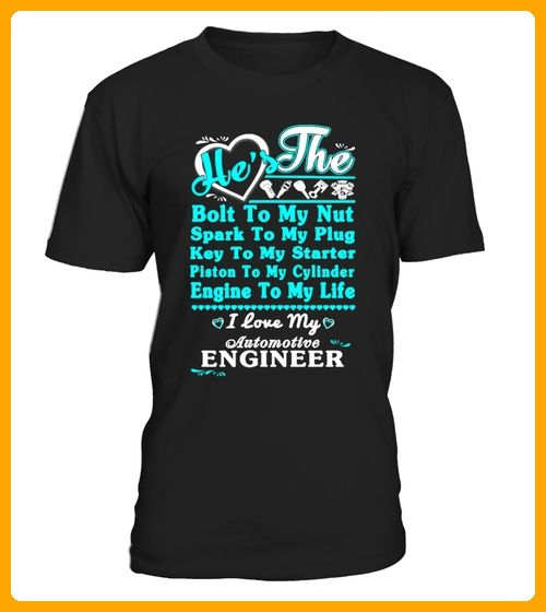 To My Nut I Love My Automatic Engineer - Shirts für onkel (*Partner-Link)
