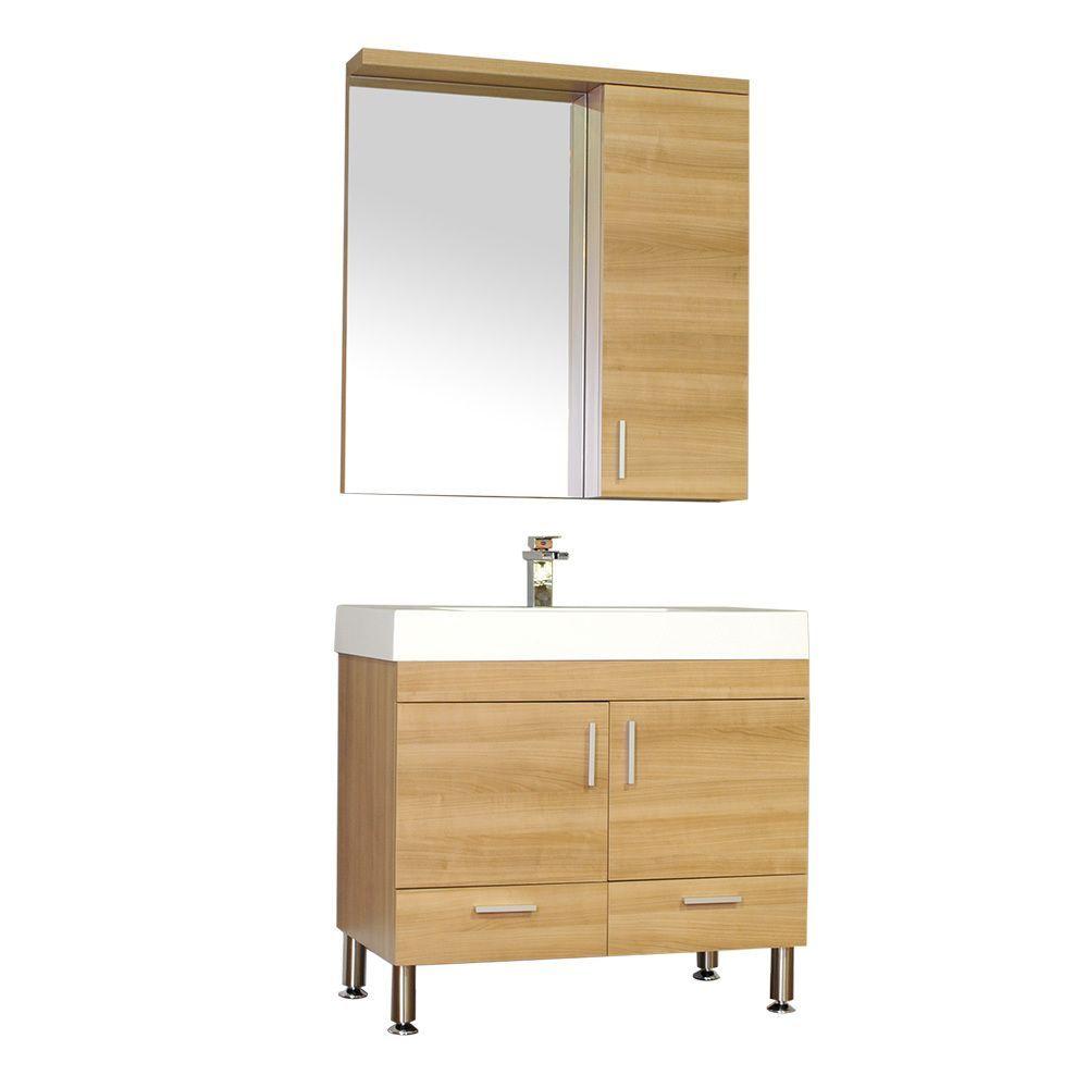 Alya bath ripley collection inch single modern bathroom vanity