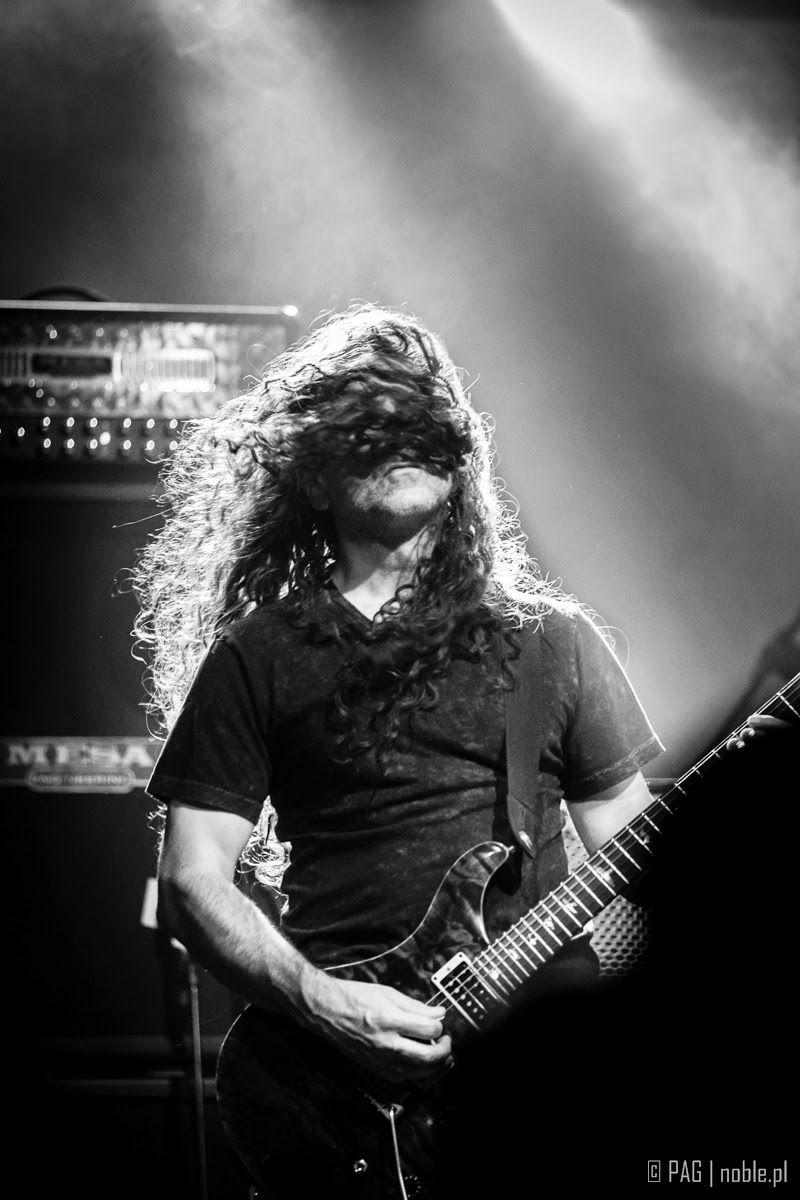 Jim Matheos @ Fates Warning concert in Krakow, Poland, Nov 2014