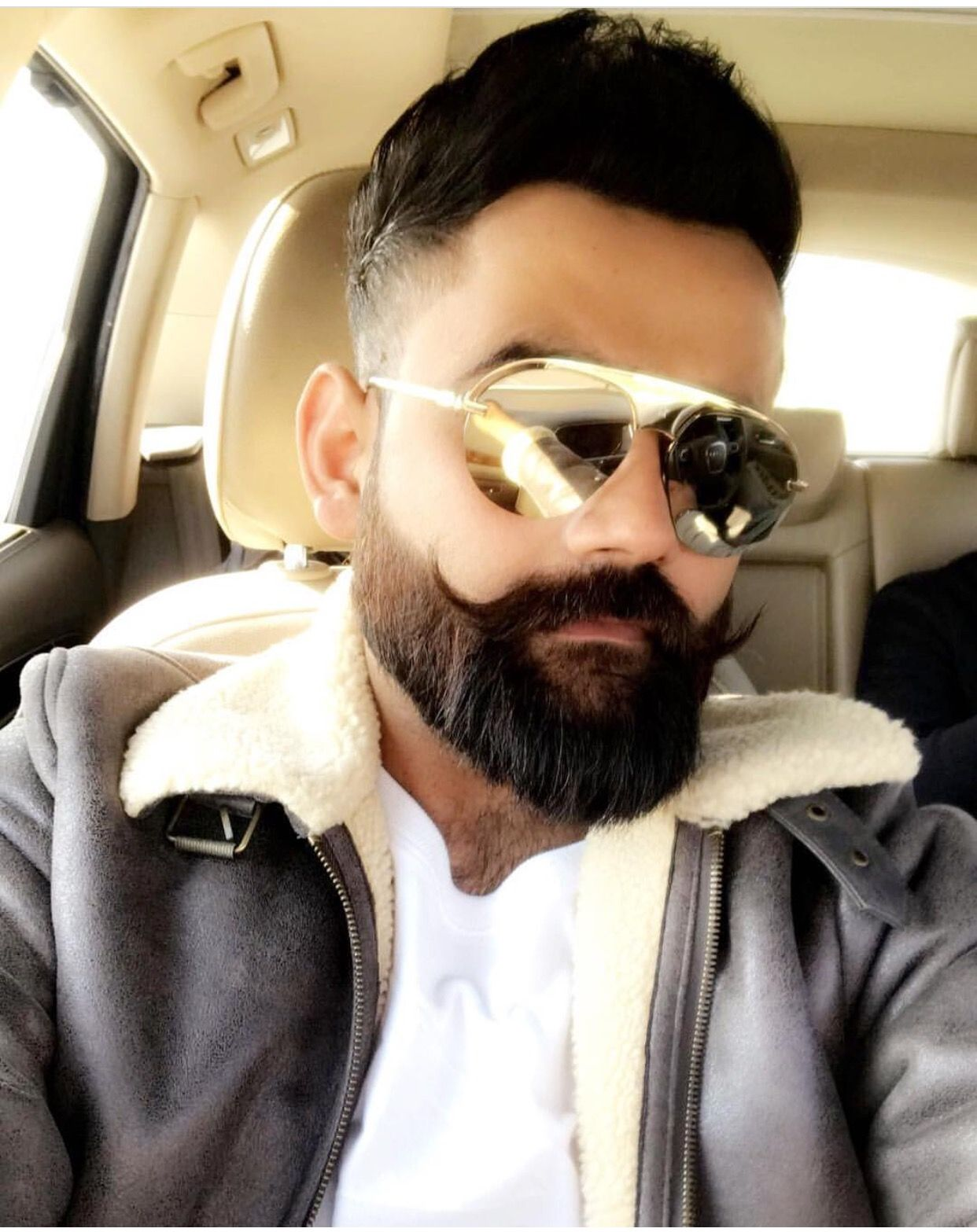 Geet Gill Amrit Maan In 2018 Pinterest Beard Haircut Sexy And