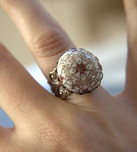 Vintage Autumn Night Ring