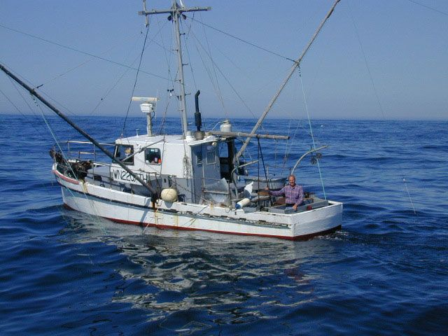 Commercial salmon trolling off the washington coast for Commercial fishing boats