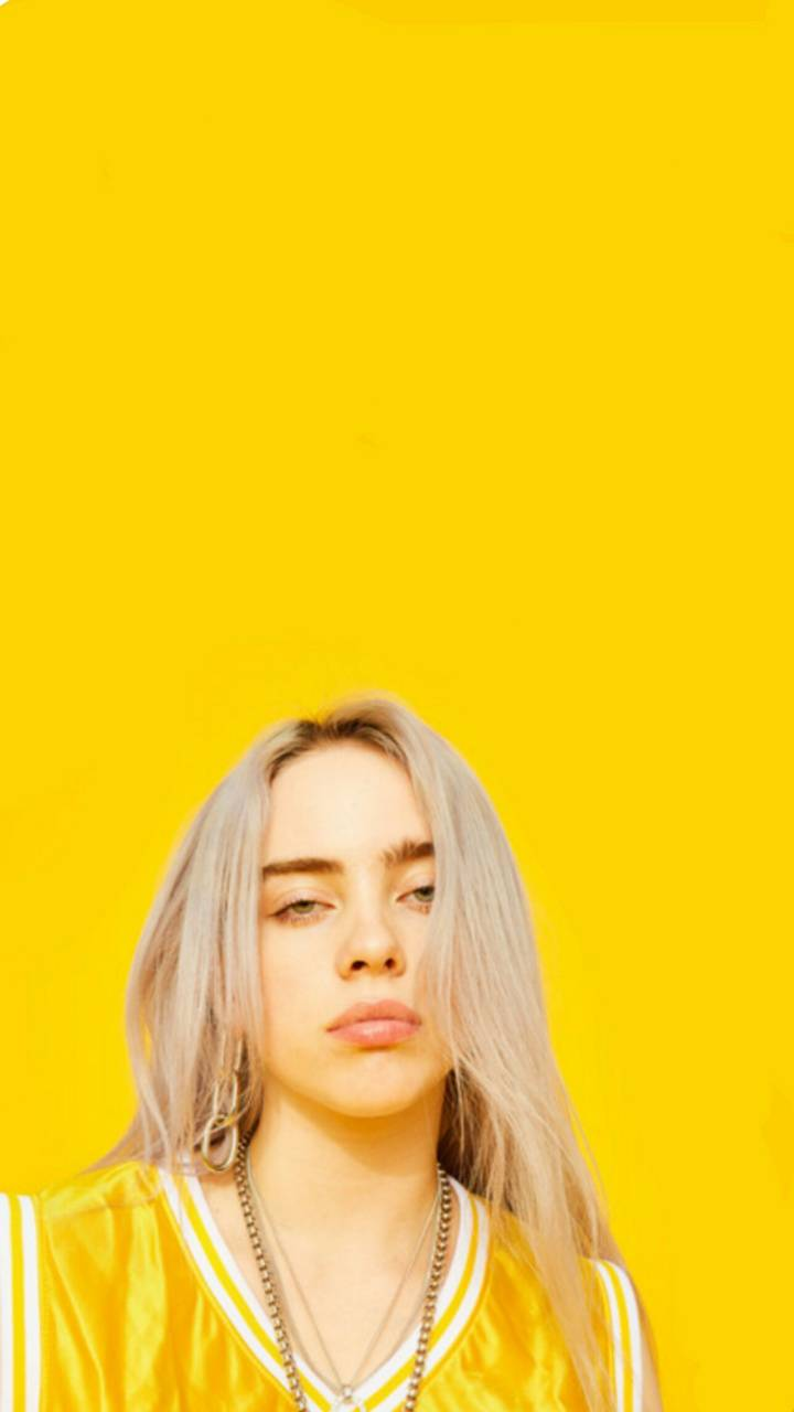 Billie Eilish Wallpaper By Aestheticsz 3d Free On Zedge In 2020 Billie Eilish Billie Yellow Aesthetic