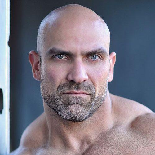 17 Bald Men with Beards | Bald men, Bald man and Beards