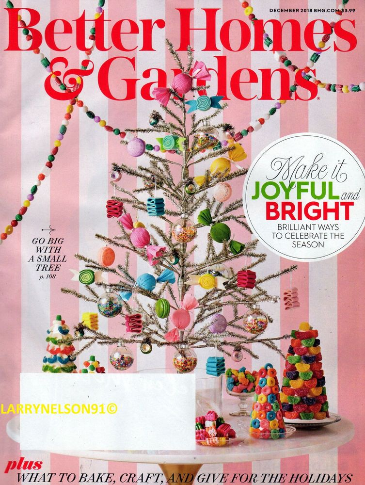 Better Homes And Gardens Magazine December 2018 Ideas Gift Guide