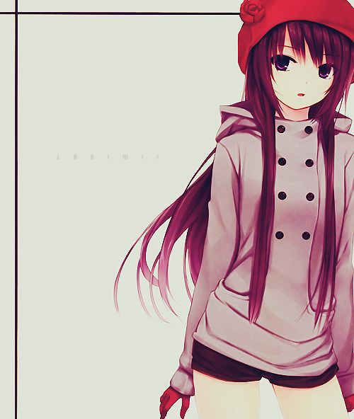 Anime Girls Teens Referensi Gambar Kartun Animasi