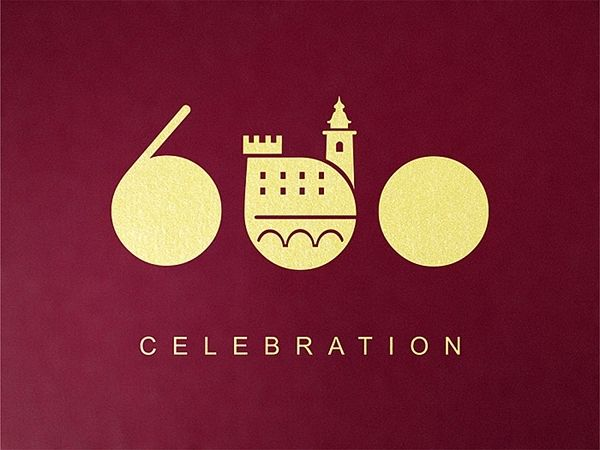 Logo of anniversary year of celebrations marking th year of the