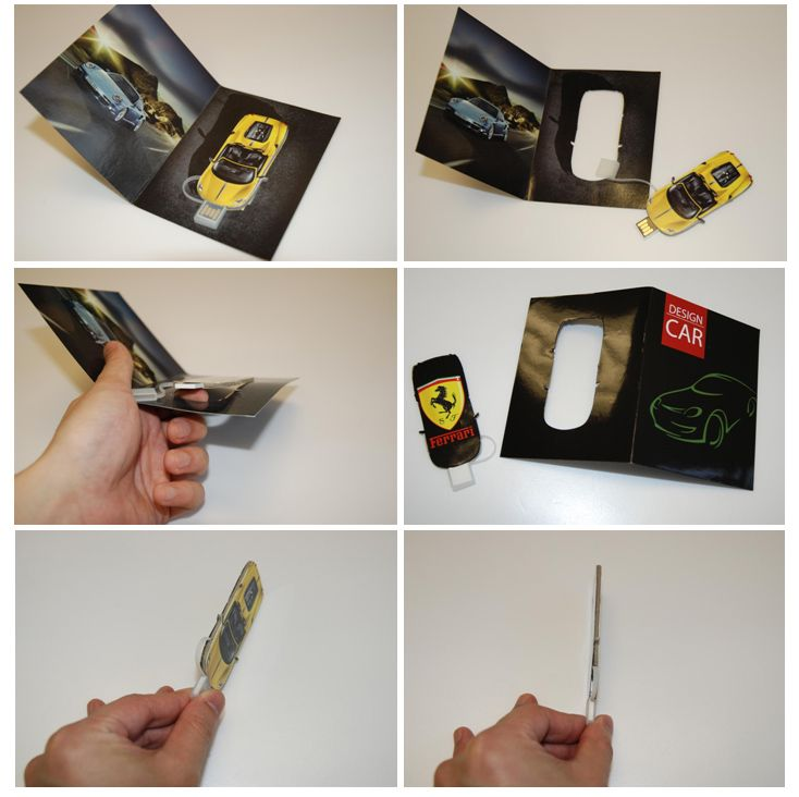 Awesome Promotional Item Usb Flash Drives In Brochures