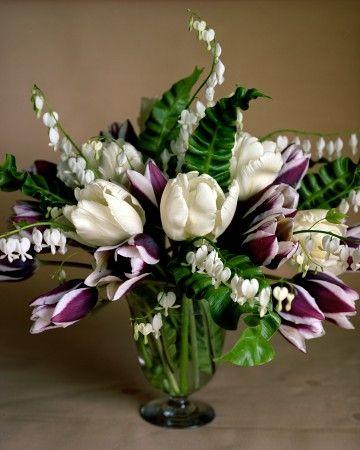 Spring Flower Arrangements Tulips Arrangement Purple Flower Arrangements White Flower Arrangements