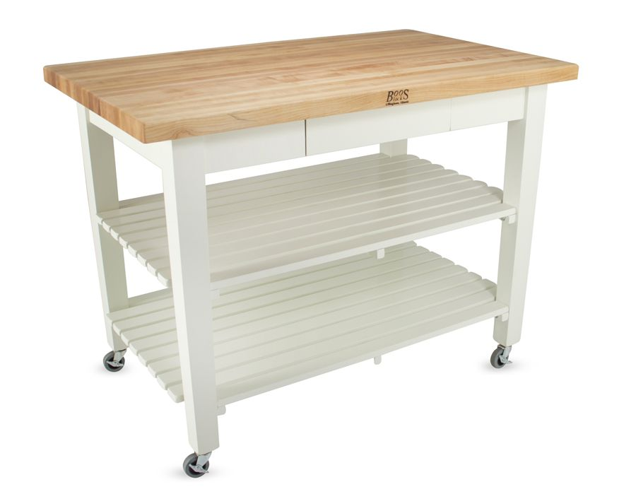 Gentil John Boos Classic Kitchen Work Table