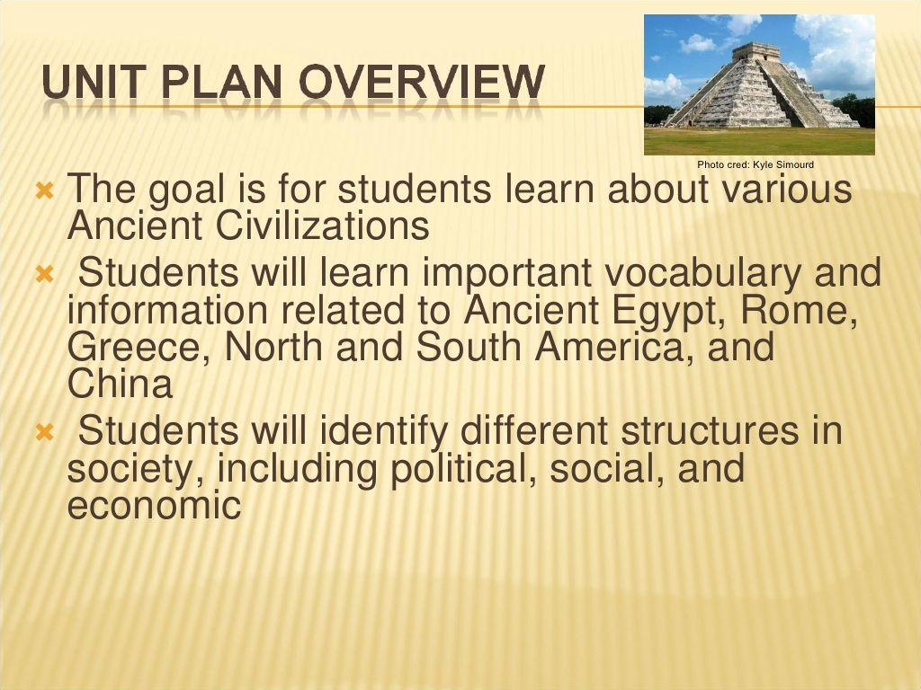 Grade 5 Ancient Civilizations Unit