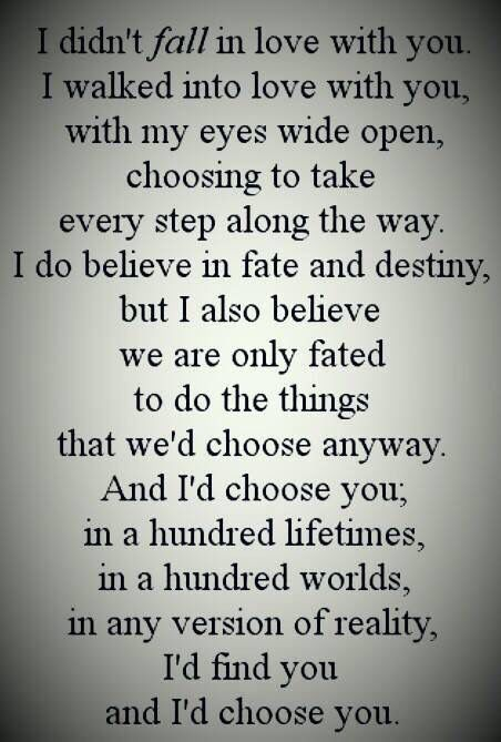 My husband sent this to me in a text. It was so beautiful ...