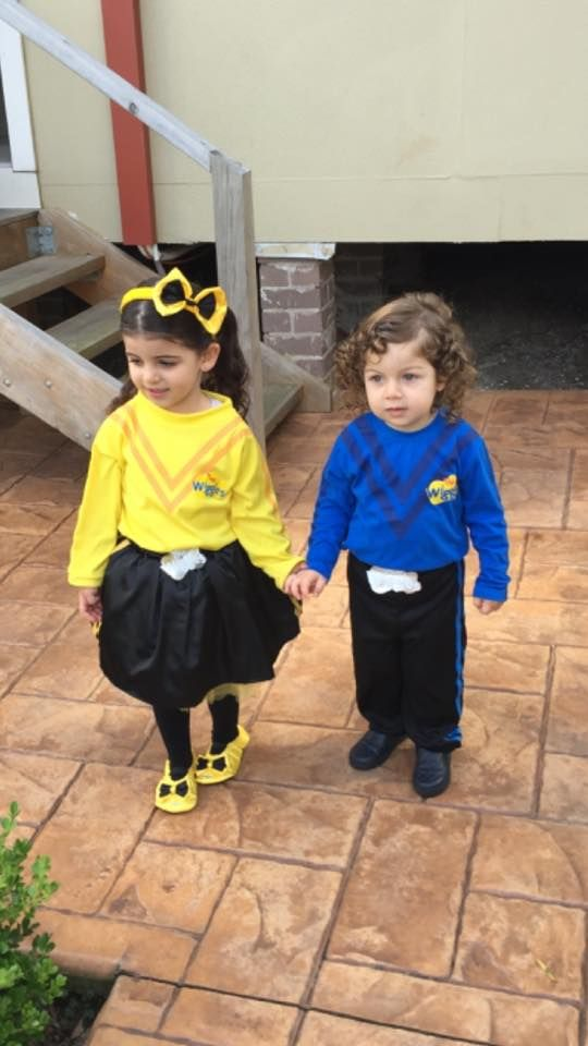 Here are two Wiggly Fans all dressed up to go to their first ever Wiggles show. #TheWiggles #WigglyFans  sc 1 st  Pinterest & Here are two Wiggly Fans all dressed up to go to their first ever ...