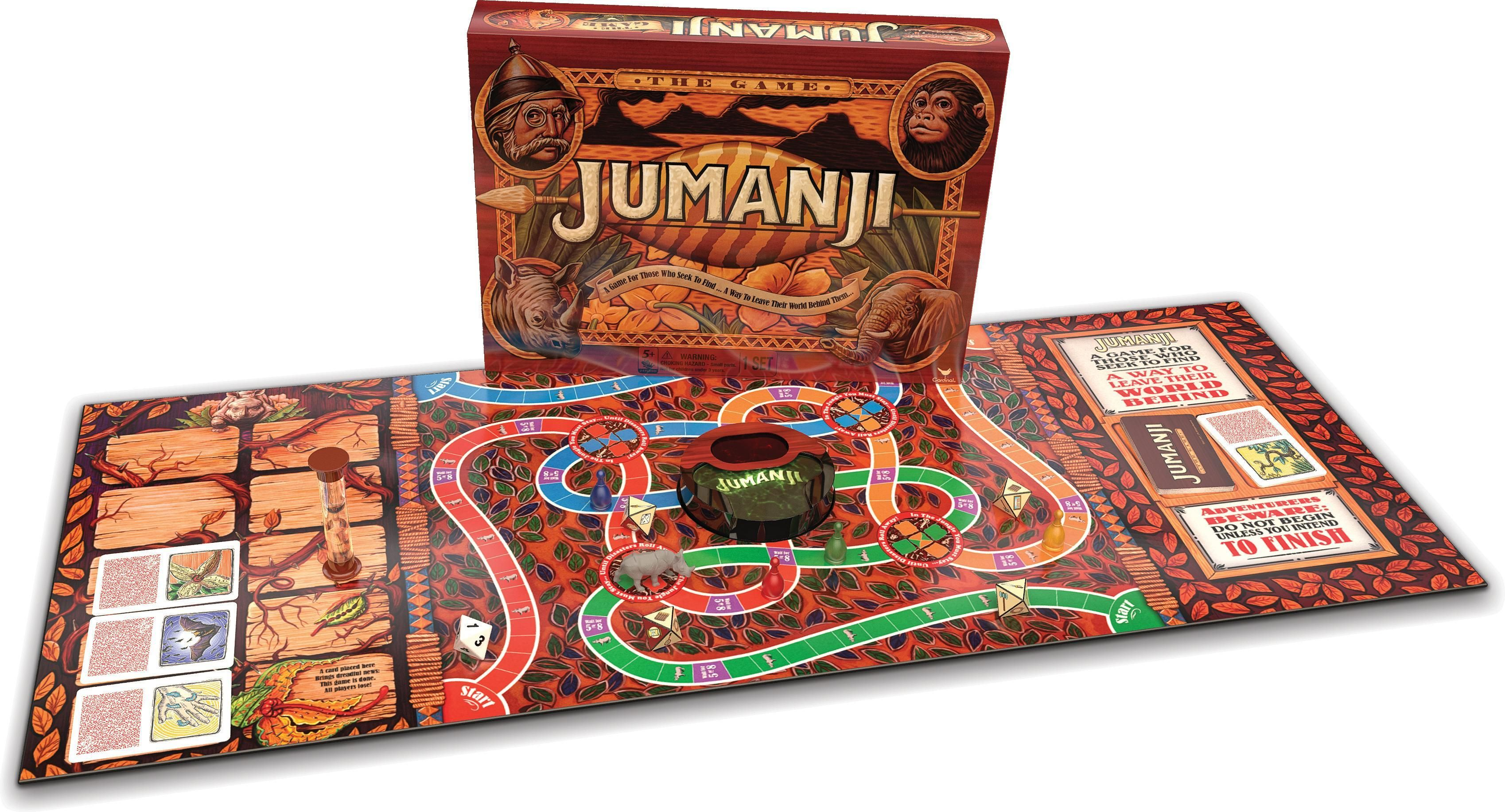 The Jumanji Board Game Has Been Re Released Because Of The New Movie Making It Affordable Once Again Jumanji Boa Jumanji Board Game Jumanji Game Board Games