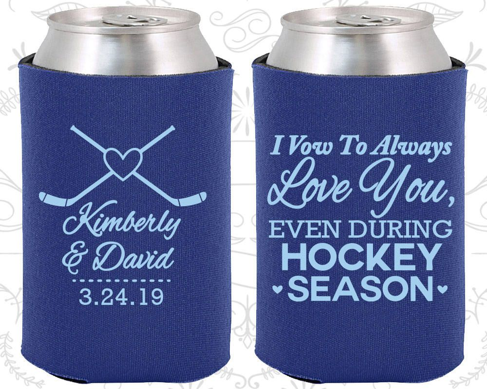 I Vow To Always Love Youeven During Hockey Seasonwedding Ideas