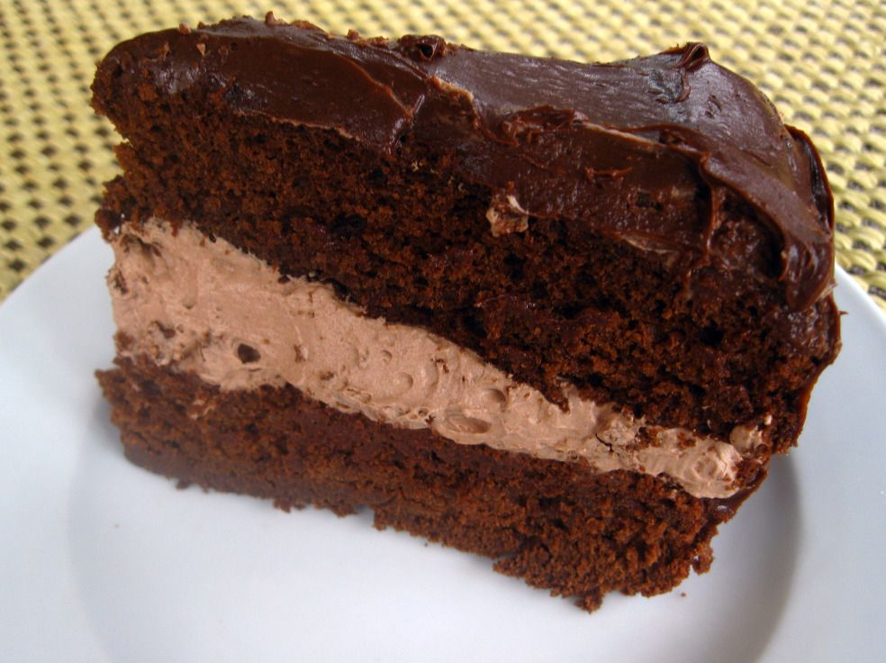 Chocolate Mousse Cake I am going to be a cake baking machine this week. I was asked to bake 6 layer cakes for a wedding. Each cake is to be a different flavor and each will be decorated different…