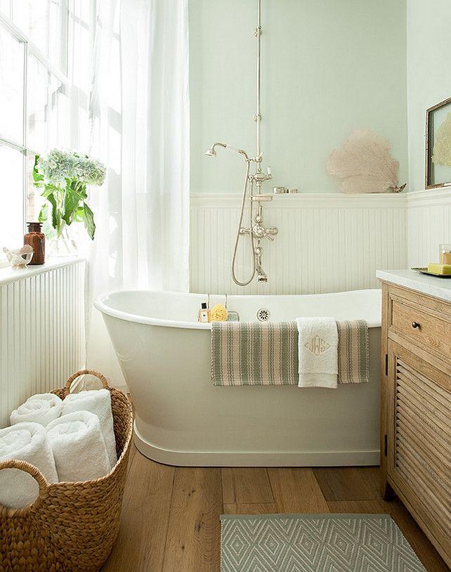 Bath Salts By Benjamin Moore 3 Bathtub Jenny Wolf Interiors Interior Design Ideas