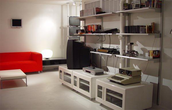Klippan Sofa From Ikea In A Retro Games Roomyes Please - Retro games room ideas