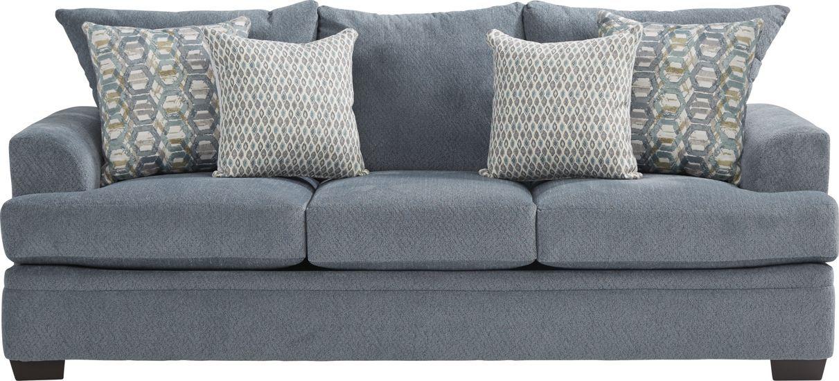 Blair Park Bluestone Sofa In 2020 Sofa Sale Living Room Sofa Rooms To Go