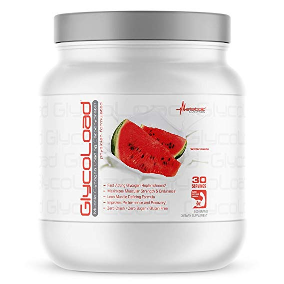 Amazon Com Metabolic Nutrition Glycoload 100 Micronized Cyclic Cluster Dextrin Carbohydrate Powde Post Workout Supplements Workout Supplements Post Workout