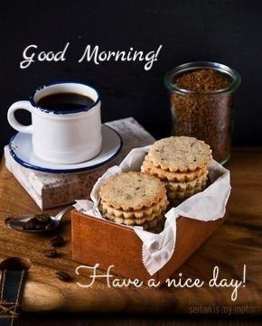 Simple Morning With Coffee And Cookies With Images Coffee