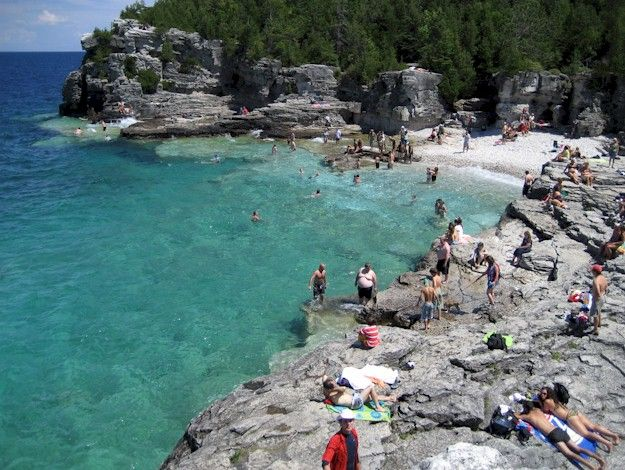 Picture of indian_cove_beach Manitou Island