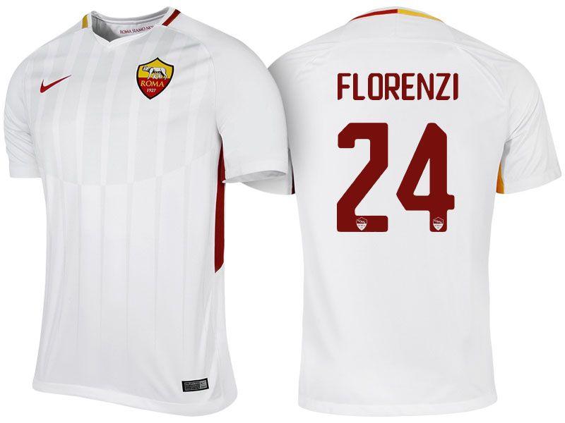 Roma Jersey alessandro florenzi 17-18 Away Shirt | Roma, Soccer ...