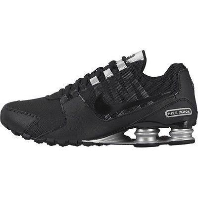 Hombres Nike Shox 10,5 Negro