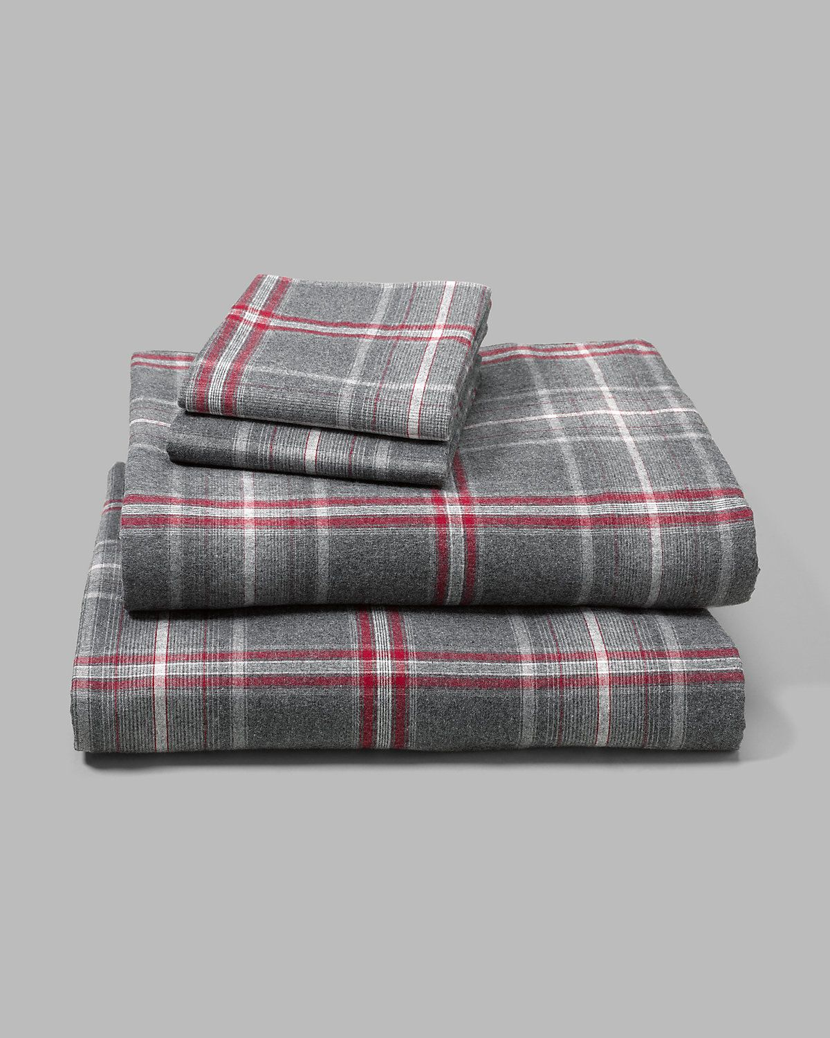 Portuguese Flannel Sheet Set Plaids Heathers My Home
