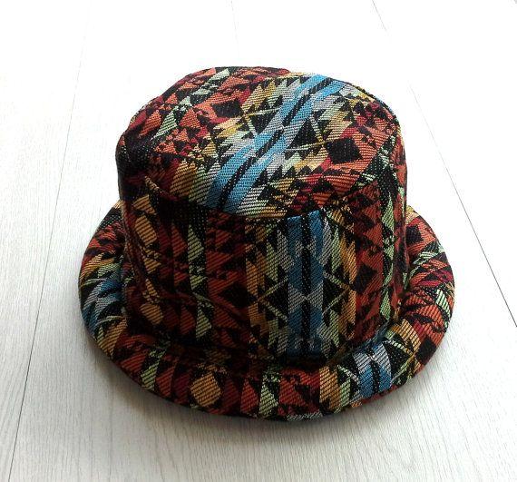Hippie Bucket Hat for Men Women 3d3adac293