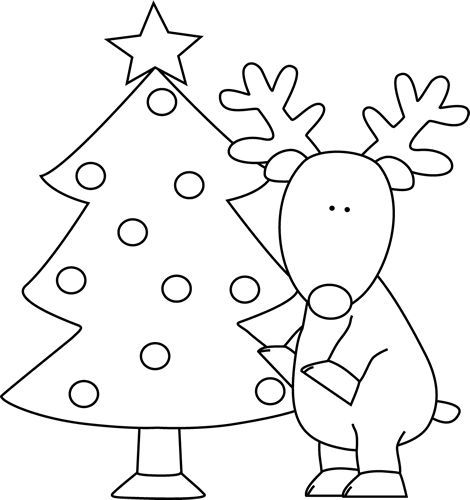 Christmas Coloring Pages for Preschoolers | Holiday Coloring Pages ...
