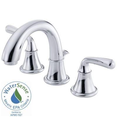 Danze Bannockburn 4 in. Minispread 2-Handle Mid-Arc Bathroom Faucet ...