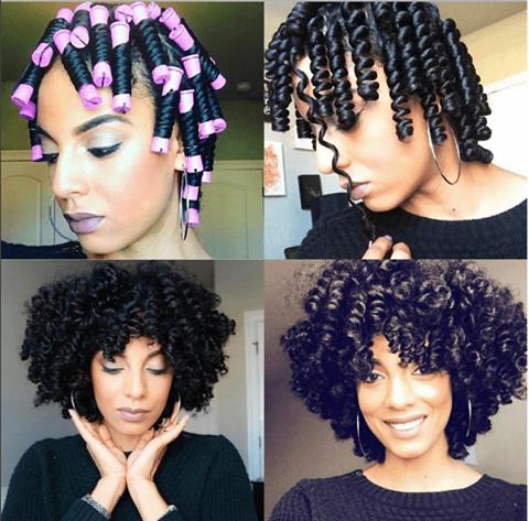 super defined perm rod set curls