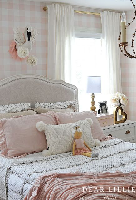 Dear Lillie Lillie S Room With A New Chandelier Bedroom Design Guest Bedroom Decor Tranquil Bedroom Lillie room with new chandelier