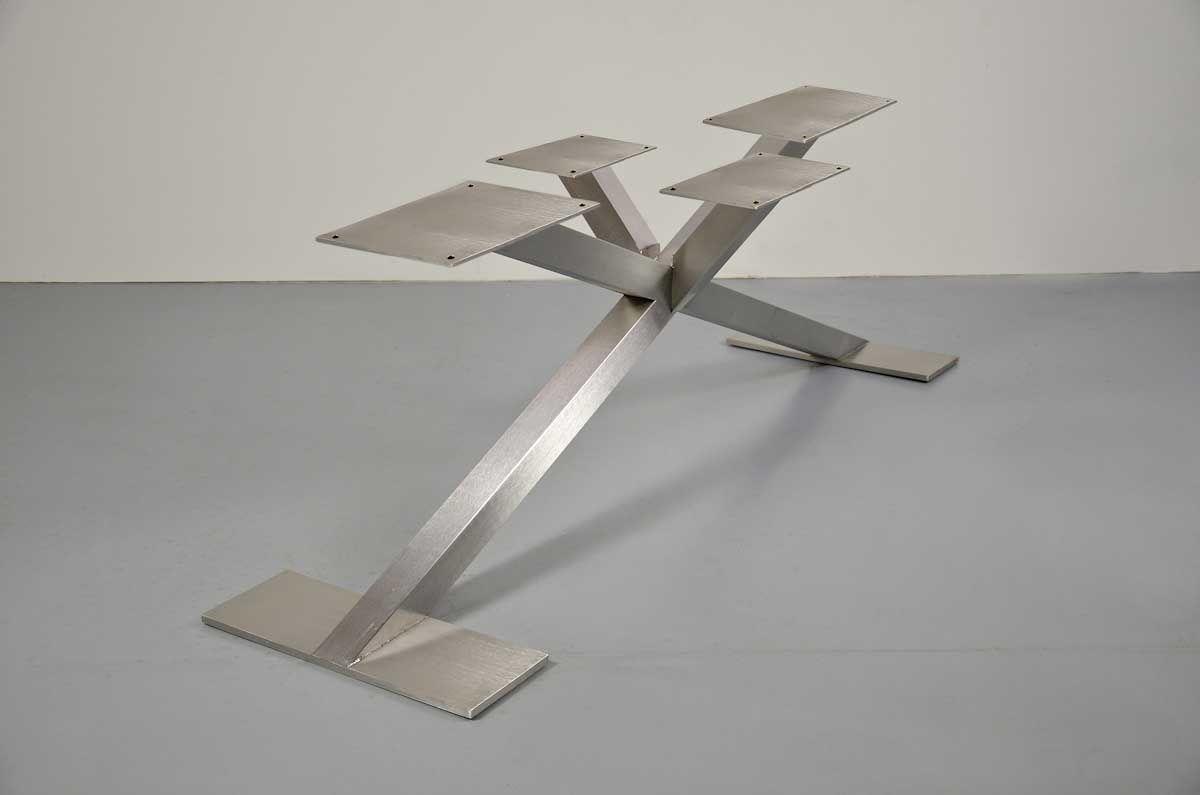 Stahl Tischgestell Sharp | стол | Pinterest | Verschoben, Tisch und ...