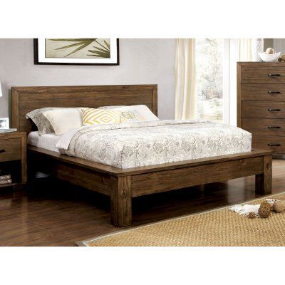 Furniture of America Ophelia Panel Bed - IDF-7250Q